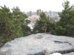 Апрель. Каменные палатки. Екатеринбург. – Фото: Пресс-центр ЗоВУ, 2013