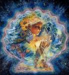 Пусти на Землю ангела, Богиня! - Английская художница Жозефина Уолл (Josephine Wall) (род.1947 г.), http://www.liveinternet.ru/users/5446331/post375724473